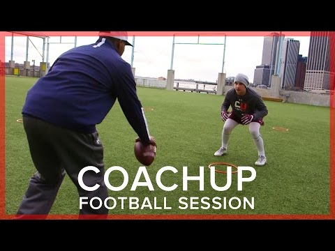 CoachUp Football Session | Paul Barber