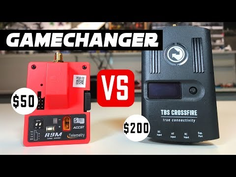 Long Range FPV GAMECHANGER! - $50 Frsky R9M VS. TBS Crossfire Review