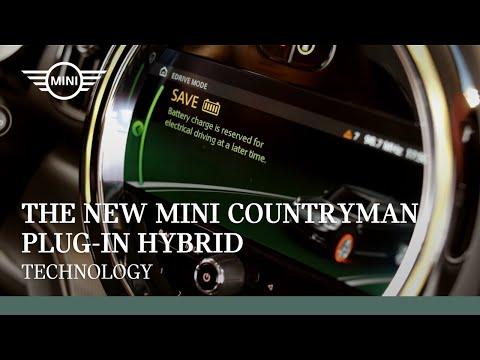 The New MINI Countryman Plug-In Hybrid I Technology