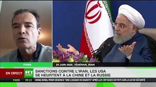 Sanctions contre l'Iran : «Les États-Unis veulent faire sortir l'Iran de l'accord sur le nucléaire»