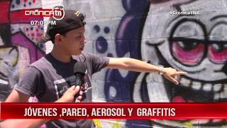 Realizan concurso de grafiti en Ocotal para dar mensaje contra las drogas - Nicaragua