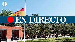 DIRECTO CORONAVIRUS | Minuto de silencio en La Moncloa por las víctimas del coronavirus en España