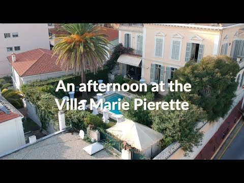 Mapic pre-party, An afternoon at the Villa Marie Pierette, Cannes