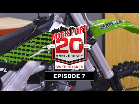 The MotoSport.com 20th Anniversary Sweepstakes | Episode 7