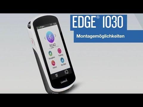 Garmin Edge® 1030 Tutorial - Montagemöglichkeiten