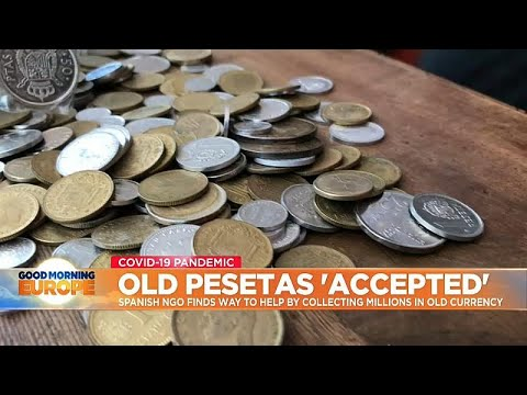 Spanish NGO eases poverty crisis by collecting millions in old Spanish currency