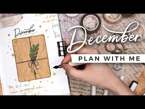 PLAN WITH ME | December 2020 Bullet Journal Setup
