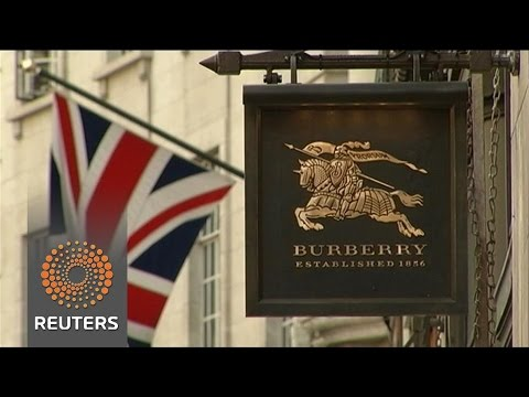 Burberry benefits from strong British performance
