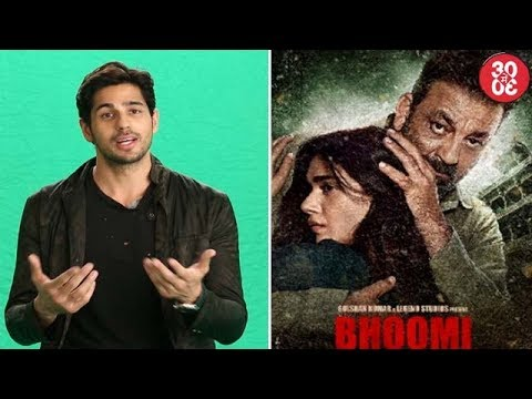 Sidharth Puts Forth His Stance On Nepotism Debate | Sanjay Shares Second Poster From 'Bhoomi'