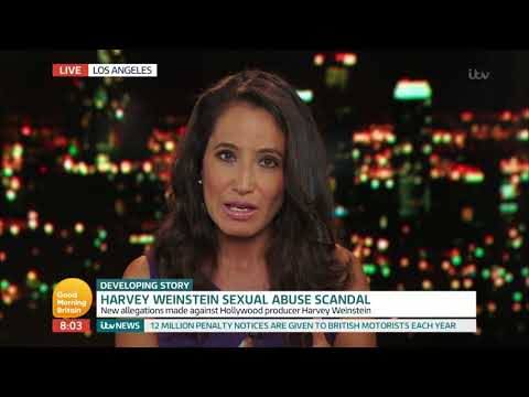 Harvey Weinstein Faces New Sexual Abuse Allegations | Good Morning Britain