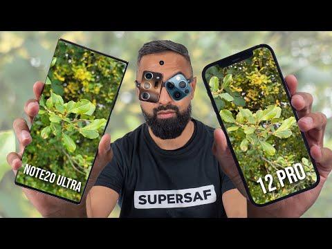 iPhone 12 Pro vs Samsung Galaxy Note 20 Ultra Camera Test Comparison