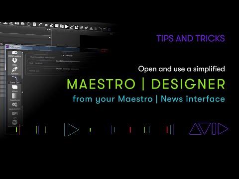 Maestro   News with Maestro   Designer