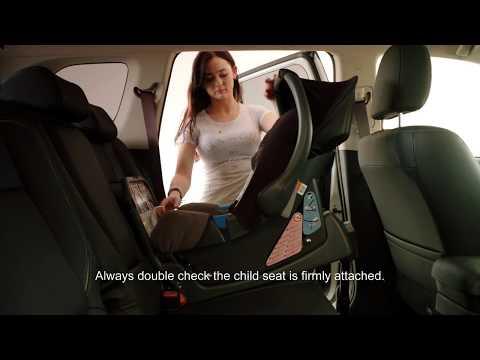 Hur du justerar sätet för att installera barnstol - Mitsubishi Outlander Plug-in Hybrid (Eng)