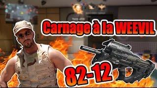 video : MrLEV12 Carnage à la Weevil 82-12! Weevil la pire SMG? en vidéo