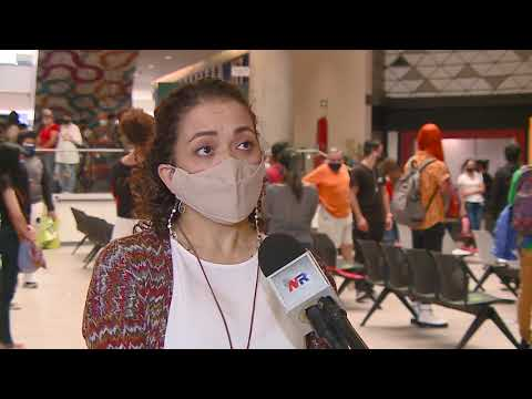 500 dosis se aplicaron esta mañana en Mall Oxígeno