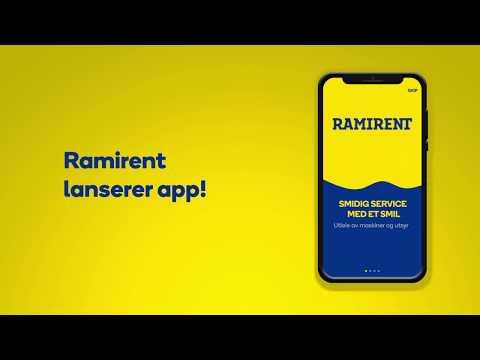 Ramirent lanserer app