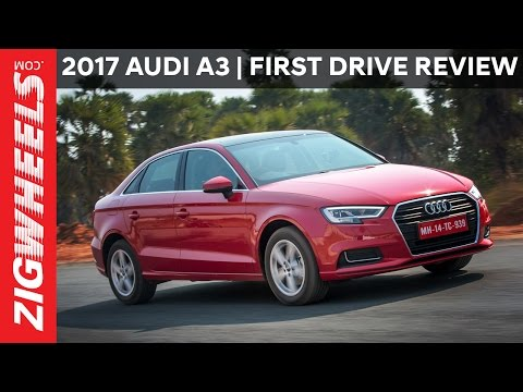 Audi A3 Facelift | First Drive Review | ZigWheels