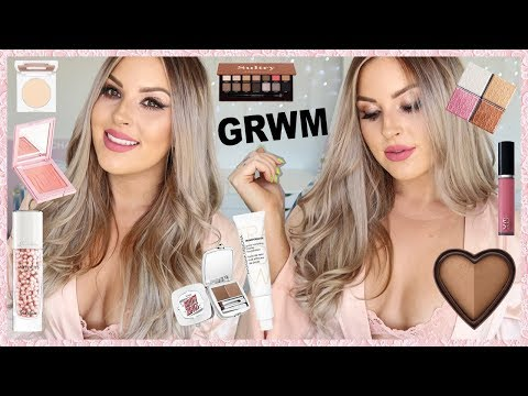 CHIT CHAT GRWM ? HAIR, MAKEUP, OUTFIT Date Night Smokey Glam