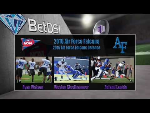 2016 NCAA Betting | Air Force Falcons Team Preview and Odds