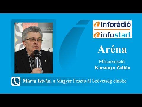InfoRádió - Aréna - Márta István - 2021.08.12.