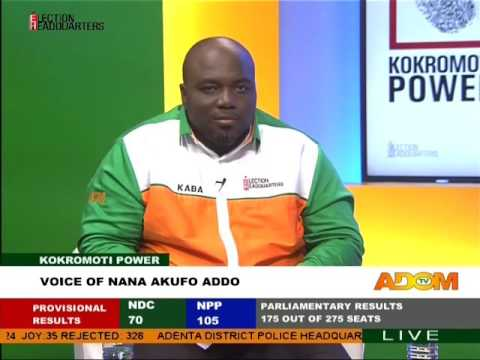 Voice of Nana Akufo Addo - Kokromoti Power on Adom TV (9-12-16)