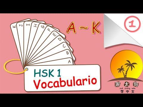Estudiar chino mandarín lección 39 ➡️ repaso final del vocabulario HSK1 ❤️ 1ra parte