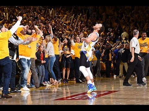 Steph Curry Nails 3-Pointer to Send Warriors to NBA Finals