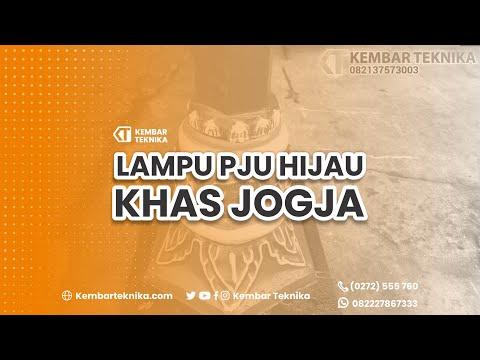 Jual Tiang Lampu Hijau Khas Yogyakarta
