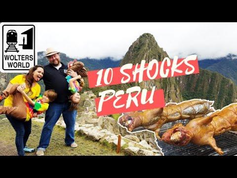 Peru - 10 Shocks of Visiting Peru