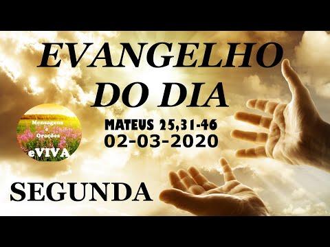 EVANGELHO DO DIA 02/03/2020 Narrado e Comentado - LITURGIA DIÁRIA - HOMILIA DIARIA HOJE