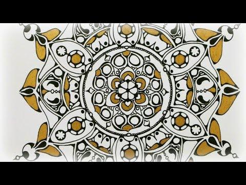 Zentangle Inspired Art #34
