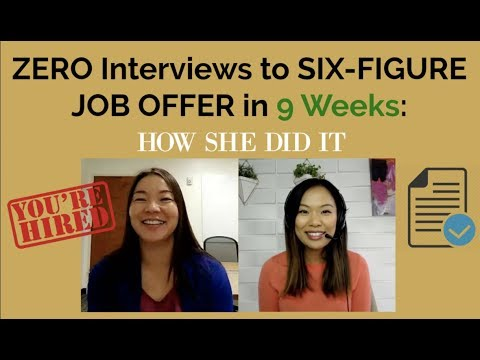 From Zero Interviews to Six-Figure Job Offer in 9 Weeks (Engineer to Finance Manager)