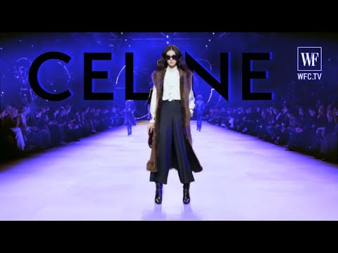 Сeline Fall/winter 20-21 Paris fashion show