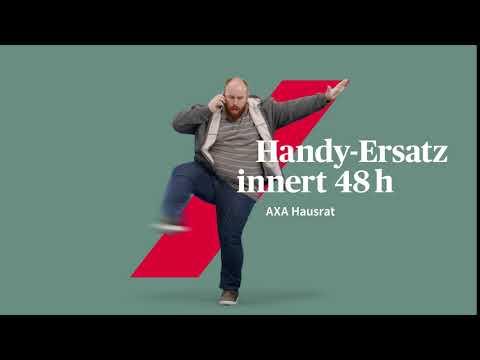 AXA Hausrat: Handy-Ersatz innert 48h