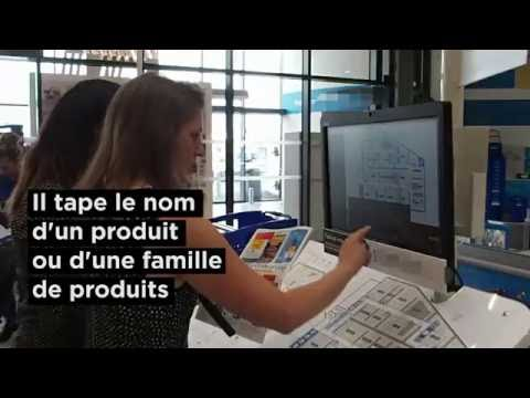 Le Quicksearch Kiosk: guidage du consommateur en magasin