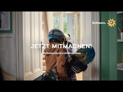 Die Schweiz verschenkt 12 000 Wochenskipässe an Kinder bis zwölf Jahre.