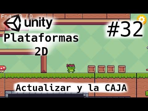 Juego De Plataformas 2D/Unity Tutorial 2021/Actualizar el proyecto y la CAJA misteriosa/Cap-32