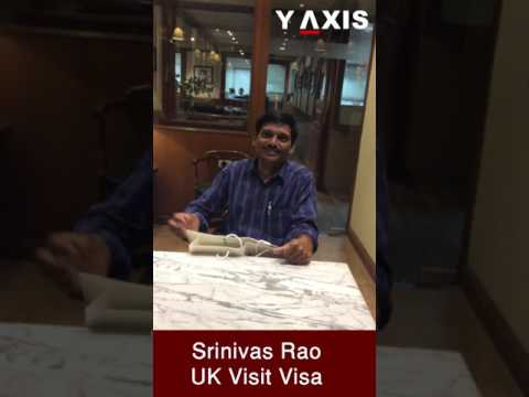 Srinivas Rao UK Visit Visa PC Jyothi