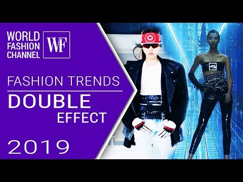 Double effect | Fashion trends spring-summer 2019