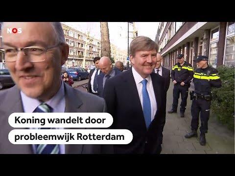 ROTTERDAM: Willem-Alexander wil graag naar probleemwijk