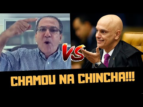 SILA MALAFAIA PERDE O CONTROLE E CHAMA ALEXANDRE DE MORAES NA CHINCHA!!!