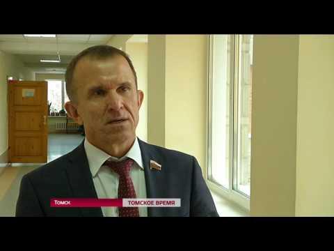 Открытый урок со старшеклассниками провел сенатор Томской области Владимир Кравченко