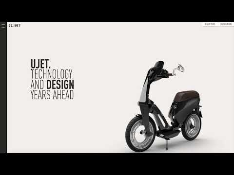 UJET: New scooter design. Electric experience.