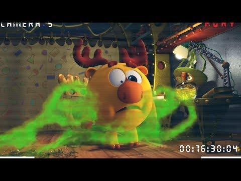 Кадр из мультфильма «Пин-код. Прыжок в будущее. Дружебин»