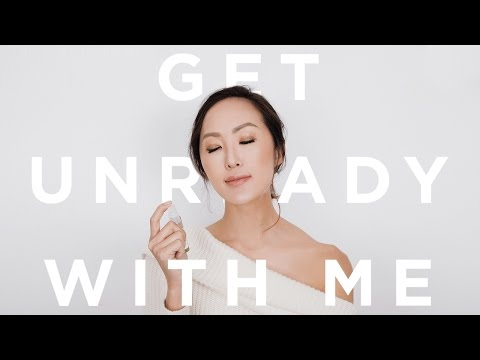 Get Unready With Me | 10 Step Travel Skincare Routine