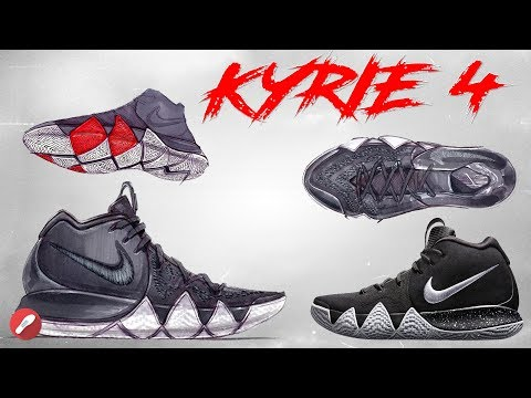 Nike Kyrie 4! A Look at the Design + Tech Specs!