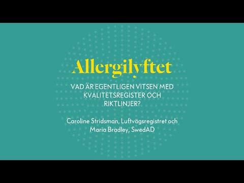Allergilyftet: Vad är egentligen vitsen med kvalitetsregister och riktlinjer?