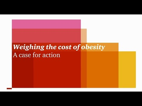 Weighing the cost of obesity: A case for action