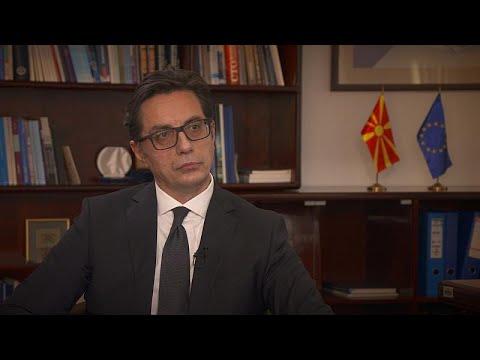 Kuzey Makedonya Cumhurbaşkanı Pendarovski: Balkanlar'da sınırları değiştiremezsiniz