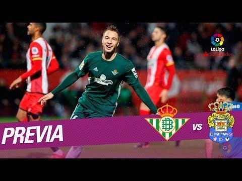 Previa Real Betis vs UD Las Palmas